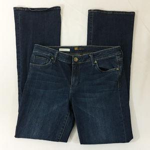 P20 Kut Kloth Farrah Baby Boot Denim Jeans Sz 10